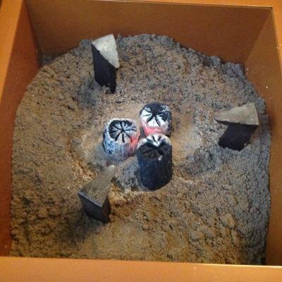 Shitabi, the starter charcoal